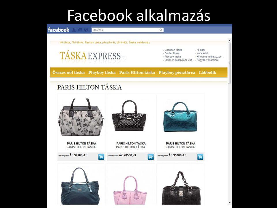 Facebook alkalmazás