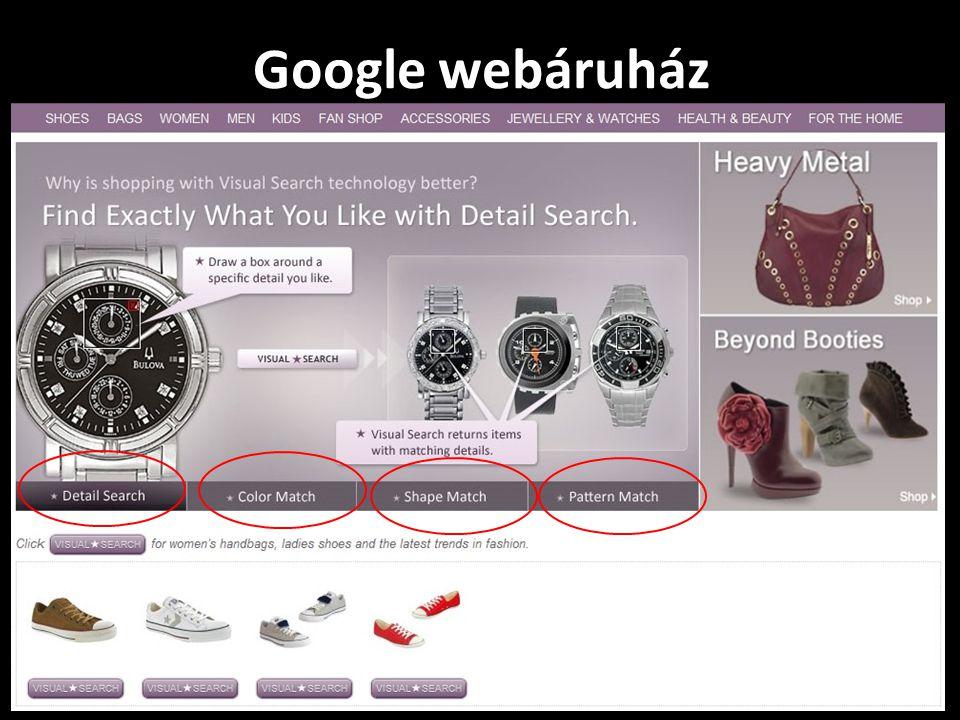 Google webáruház