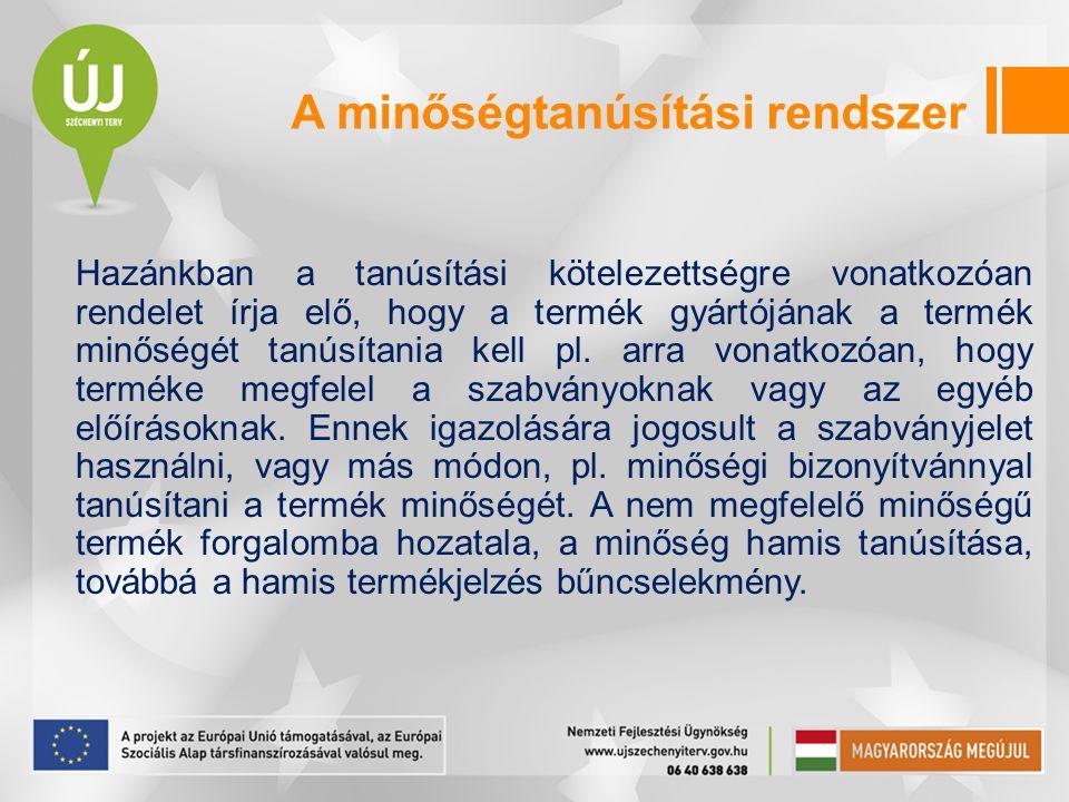 A régi és az új magyar szabványjel