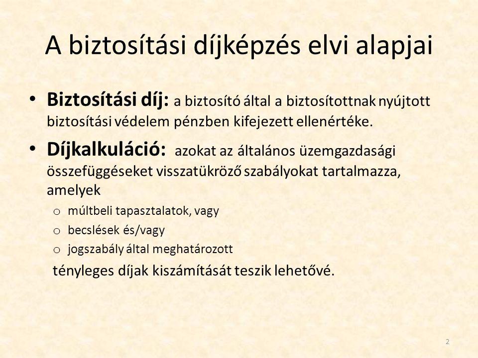 • Díj-differenciálás esetei: • 1.
