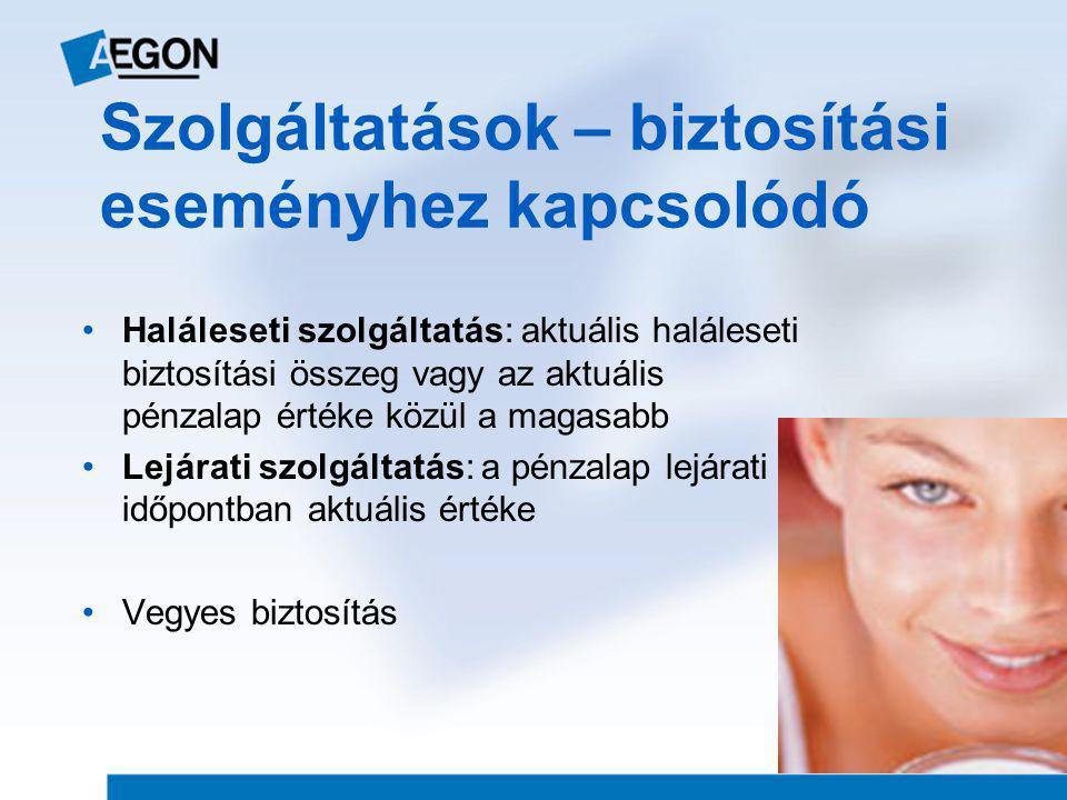 Orvosi vizsgálati összeghatárok Élet- + egészségbiztosítások 30 éves korig 15 MFt 45 éves korig 10 MFt 55 éves korig 8 MFt 56 éves kortól 2 MFt Balesetbiztosítások Baleseti halál: 10 MFt felett II.