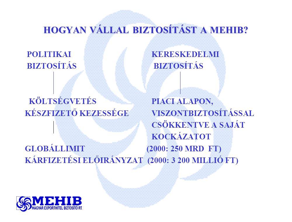 HOGYAN VÁLLAL BIZTOSÍTÁST A MEHIB.