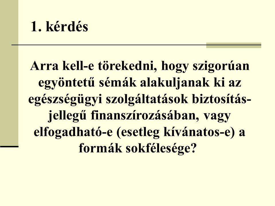 22.kérdés Mindkét oldalon elfogadják-e a kockázati kiegyenlítés elvét.