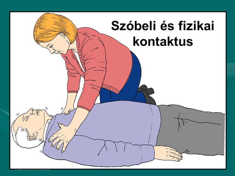 Farkas-Kudoba-Zolnai Ha a sérült nem reagál Szabad légút biztosítás: Szabad légút biztosítás: •sz.e.