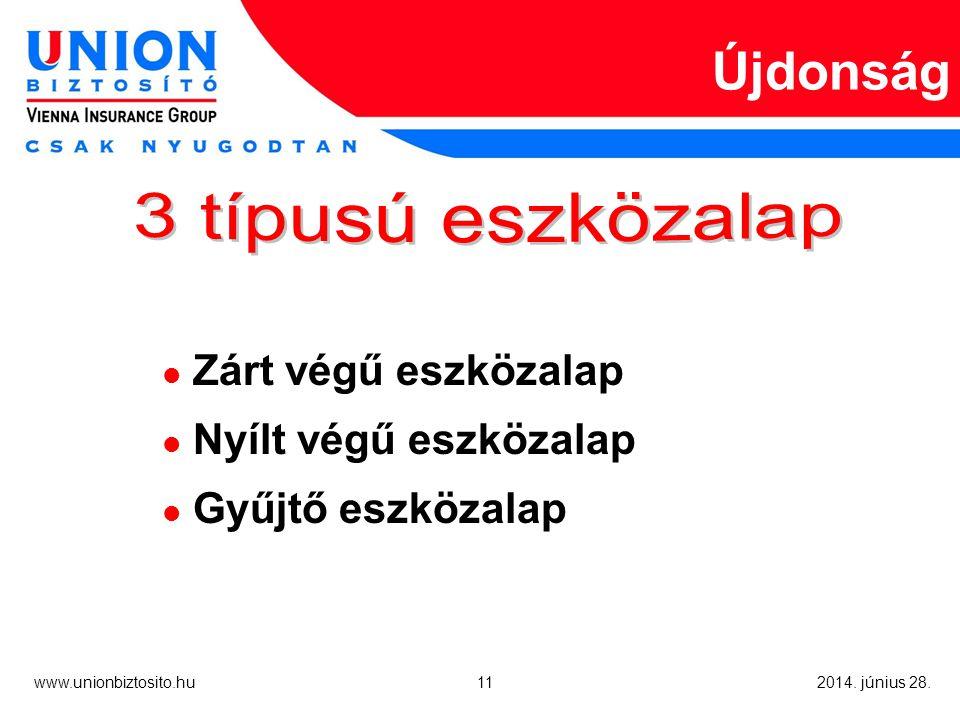 11 www.unionbiztosito.hu 2014. június 28.