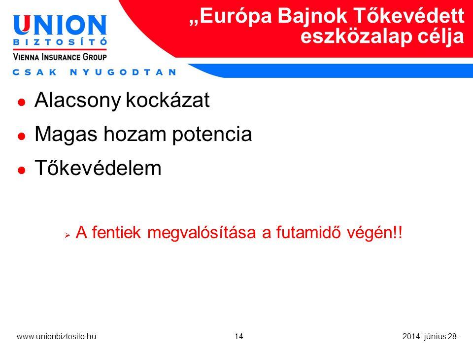 14 www.unionbiztosito.hu 2014. június 28.