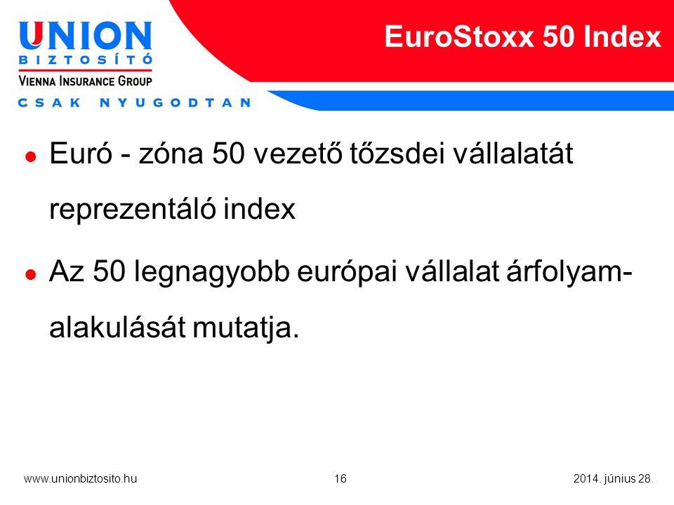 16 www.unionbiztosito.hu 2014. június 28.
