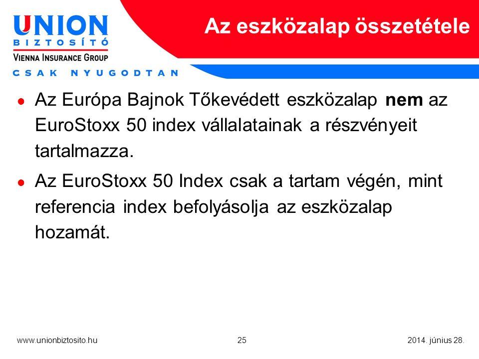 25 www.unionbiztosito.hu 2014. június 28.