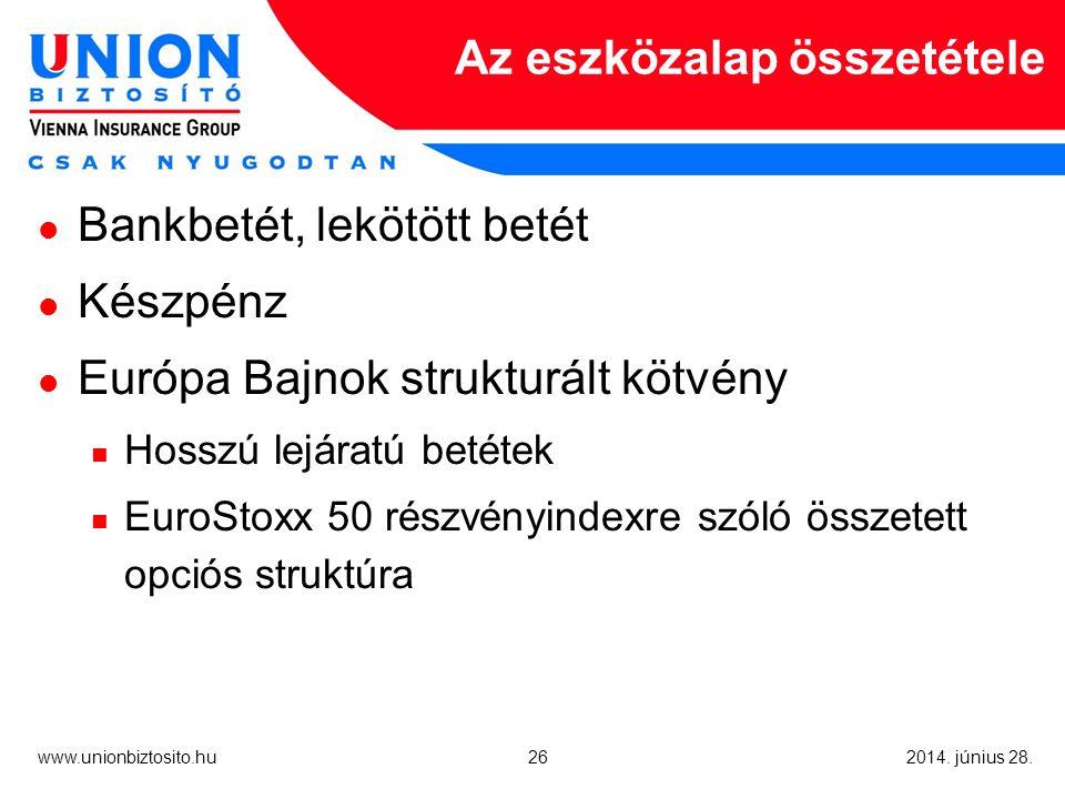 26 www.unionbiztosito.hu 2014. június 28.