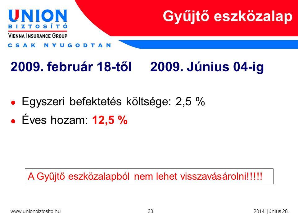 33 www.unionbiztosito.hu 2014. június 28.