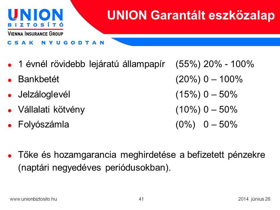 41 www.unionbiztosito.hu 2014. június 28.