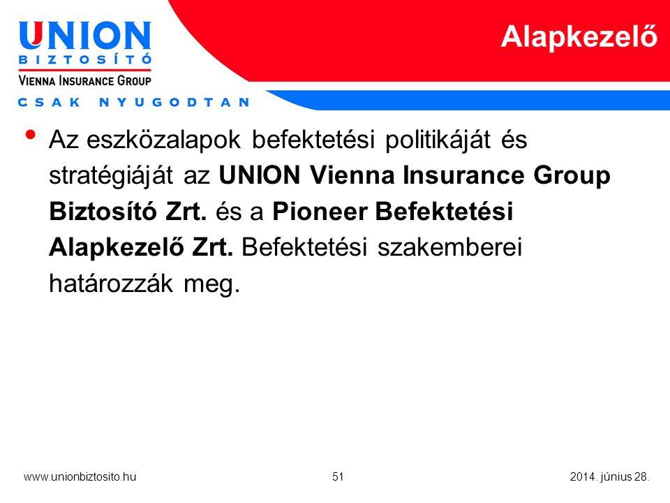 51 www.unionbiztosito.hu 2014. június 28.