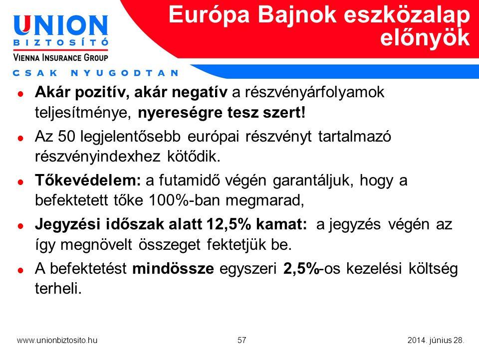 57 www.unionbiztosito.hu 2014. június 28.