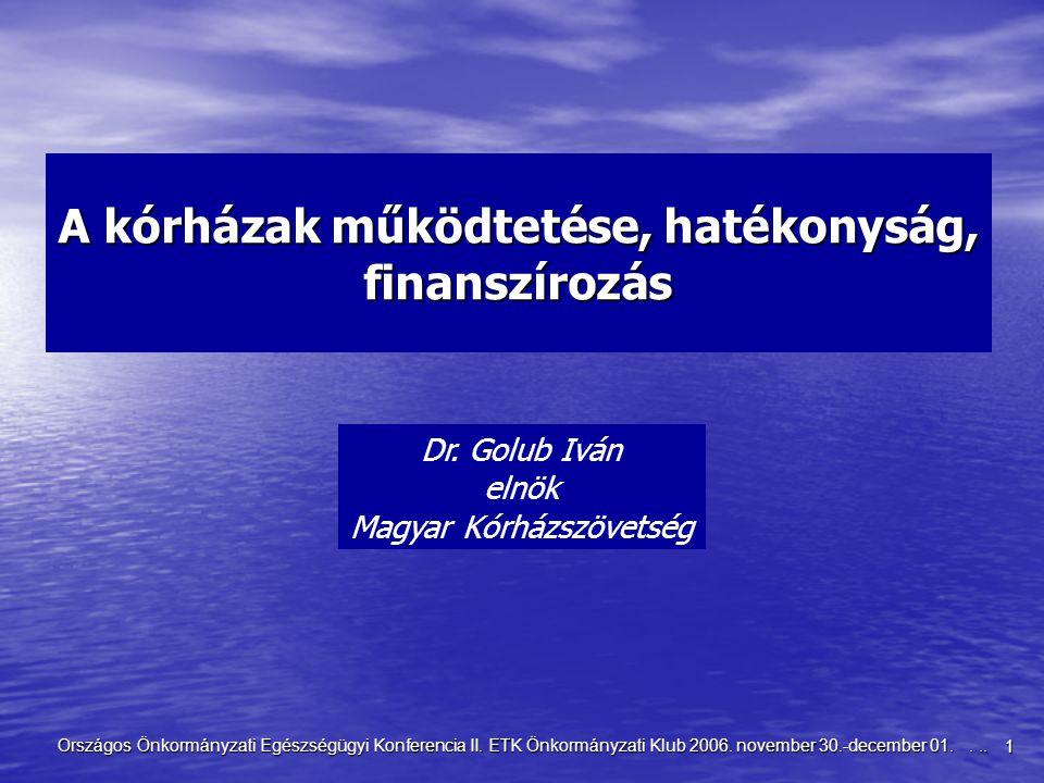 2 Országos Önkormányzati Egészségügyi Konferencia II.