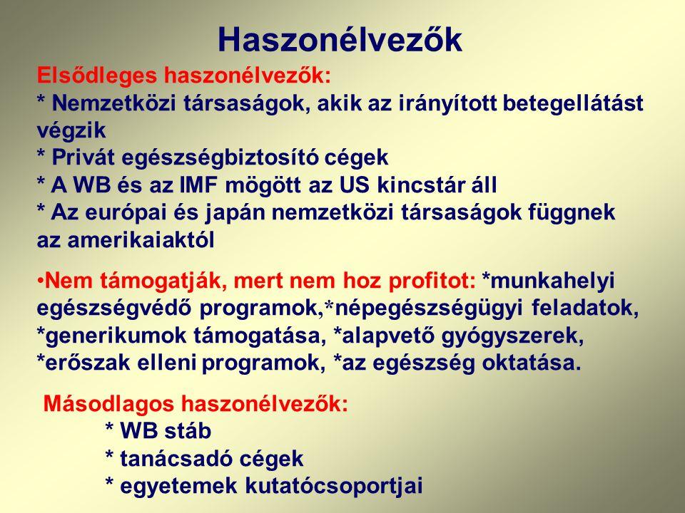 Európai kísérletek: •Szlovákiában most próbálják visszafordítani a nálunk most tervezett kísérletet. •A versengő társadalombiztosítók a társadalombizt