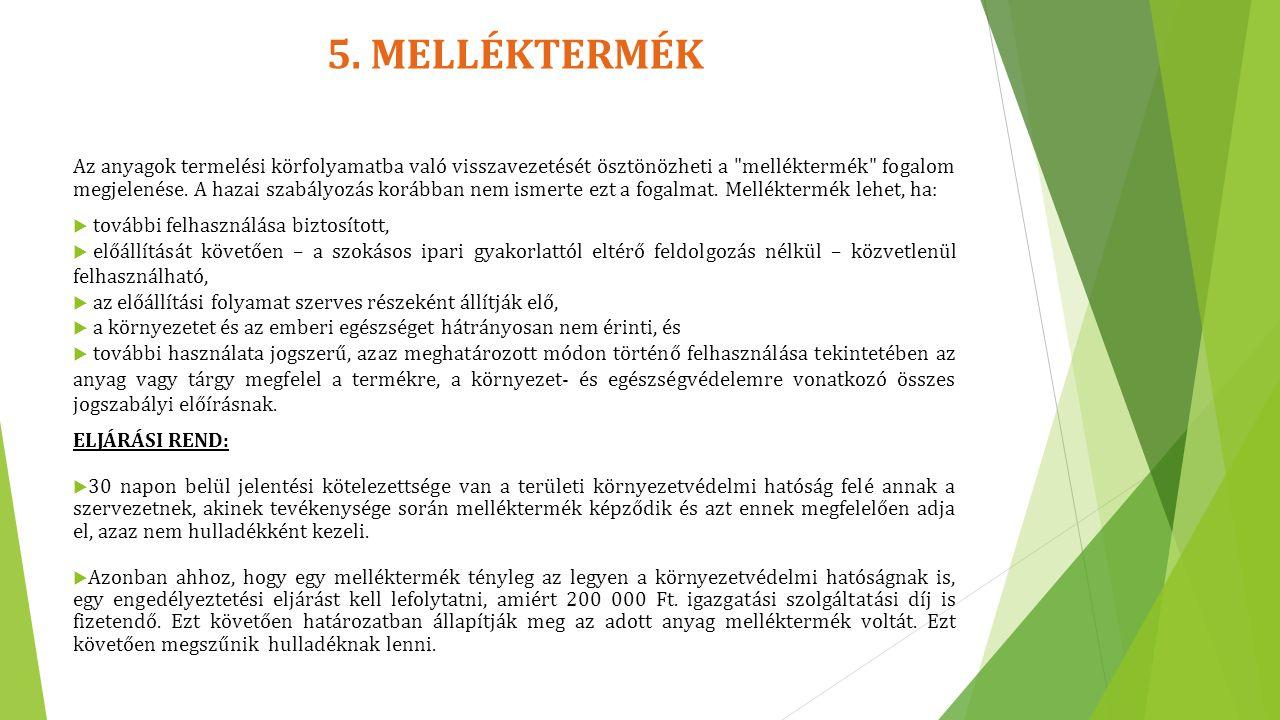 13.PCB TARTALMÚ HULLADÉKOKKAL KAPCSOLATOS VÁLTOZÁS  2013.