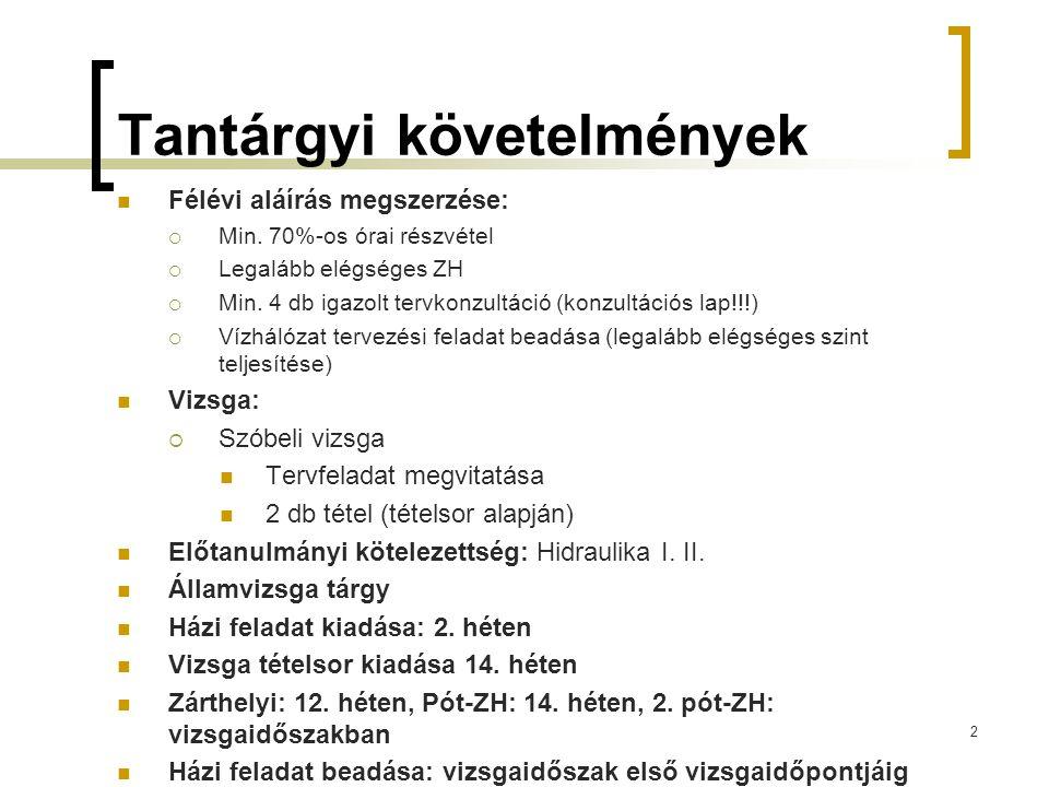 Távlati előrejelzés  Távlati tervezés (20-50 év):  147/2010.