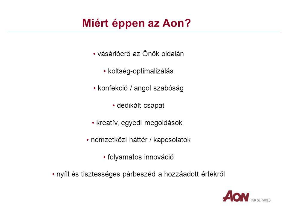 Miért éppen az Aon.