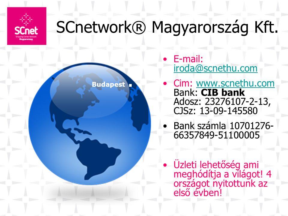 SCnetwork ® a gyakorlatban 2.