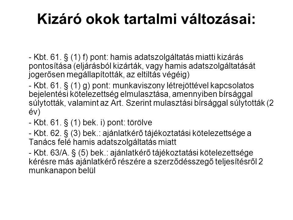 Előzetes vitarendezés – Kbt.96/B § 2010. január 1.