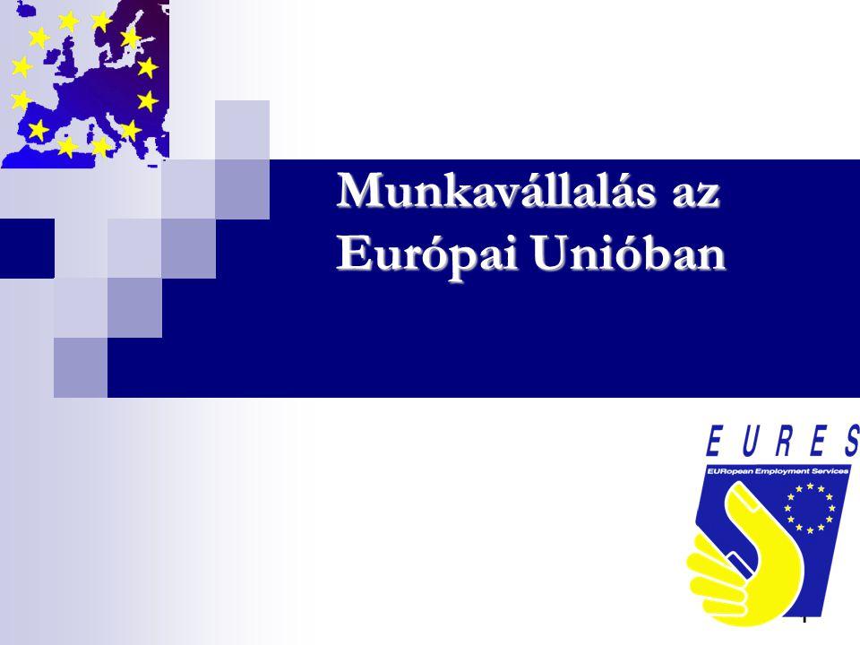12 Államközi egyezmények  Németország - vendég-munkavállalói egyezmény: 18-40 év közöttieknek - szezonális munkavállalás (max.