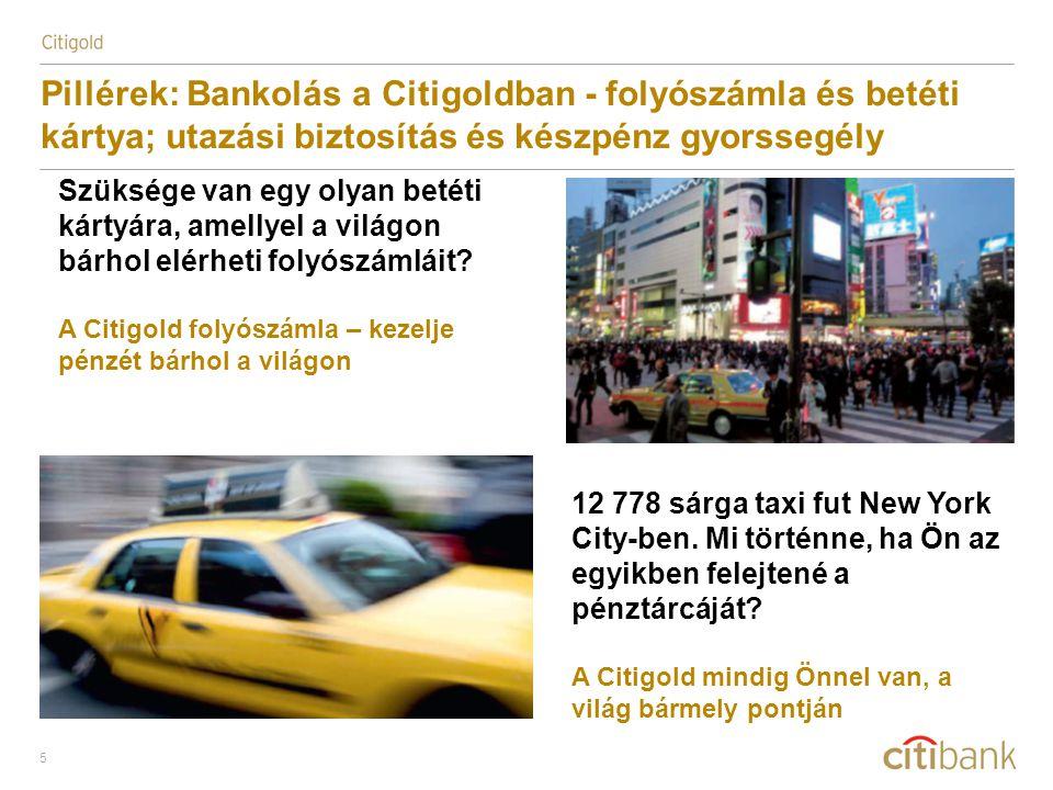 6 Pillérek: Bankolás a Citigoldban - Citibank offshore banki szolgáltatások Szüksége van külföldi bankszámlára céges/magán ügyeinek intézéséhez.