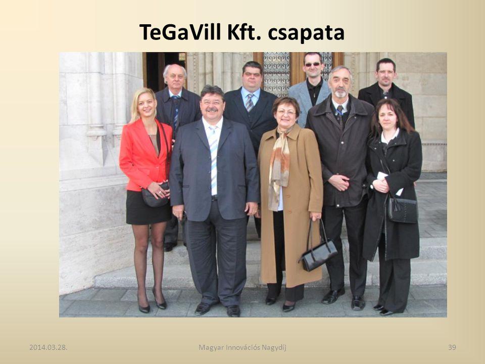 TeGaVill Kft. csapata 2014.03.28.39Magyar Innovációs Nagydíj