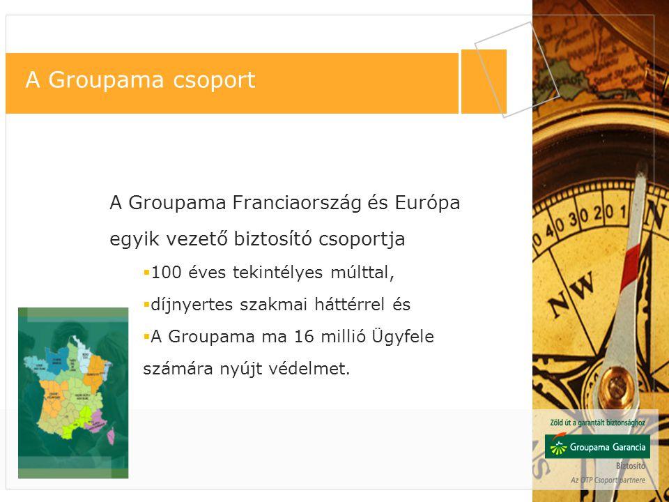 A Groupama Franciaországon kívül 13 országban, főként Európában van jelen, mintegy 16 millió ügyfelét szolgálva.