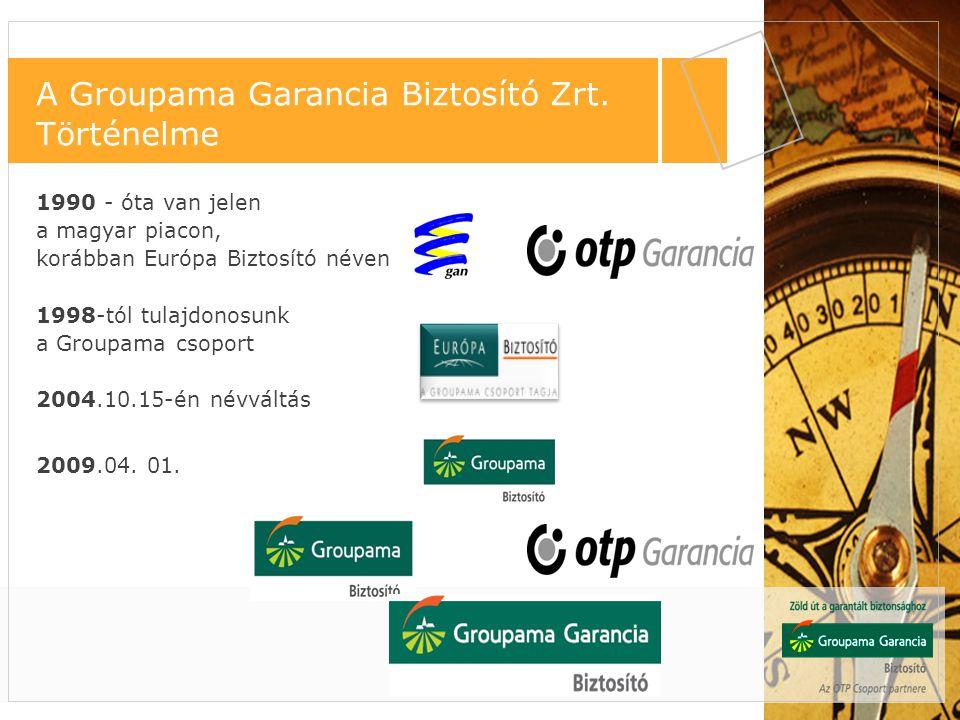 1990 - óta van jelen a magyar piacon, korábban Európa Biztosító néven 1998-tól tulajdonosunk a Groupama csoport 2004.10.15-én névváltás 2009.04. 01. f