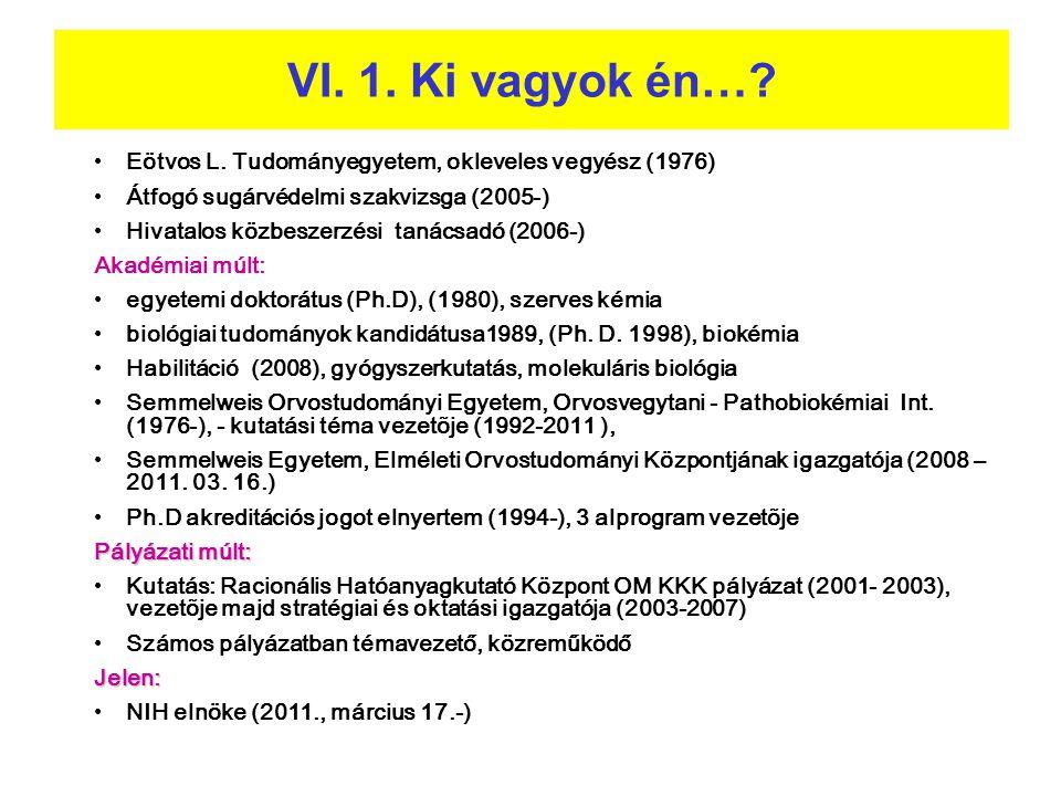 • Eötvos L. Tudományegyetem, okleveles vegyész (1976) • Átfogó sugárvédelmi szakvizsga (2005-) • Hivatalos közbeszerzési tanácsadó (2006-) Akadémiai m