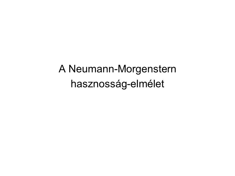 A Neumann-Morgenstern hasznosság-elmélet