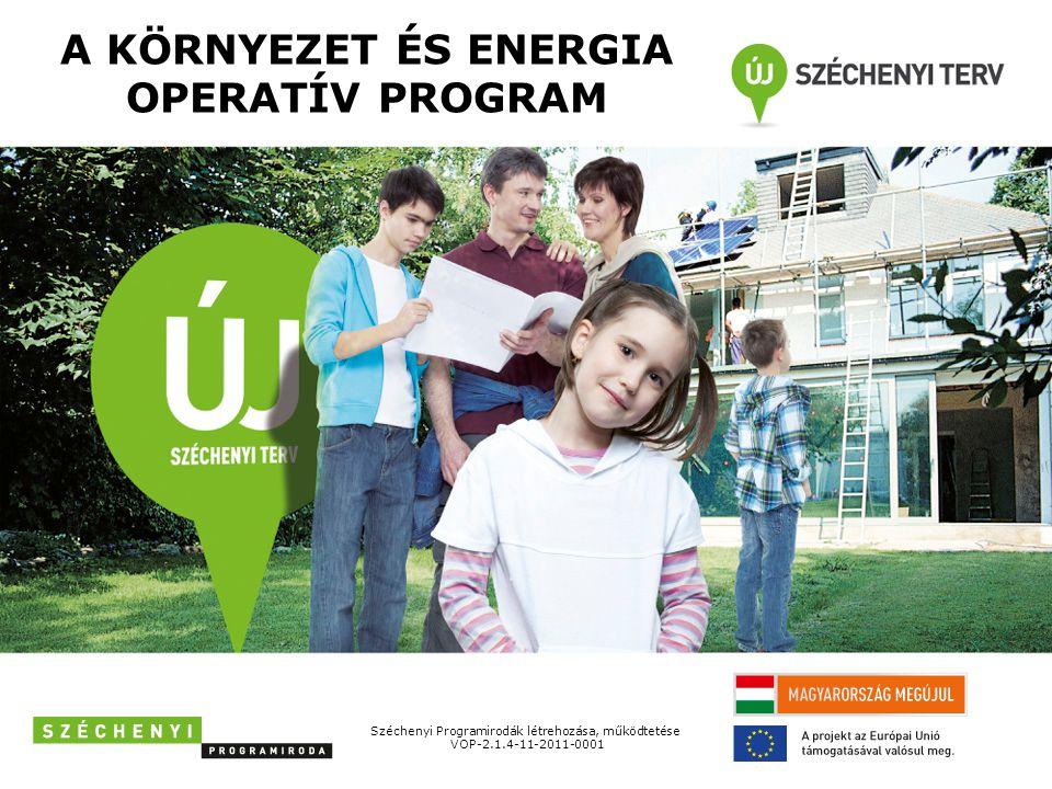 KEOP-4.10.0/A • Helyi hő, és villamosenergia-igény kielégítése megújuló energiaforrásokkal • 1-50 millió forint támogatási igényű beruházások támogathatóak • könnyített elbírálású eljárás Aktuális kiírt pályázatok