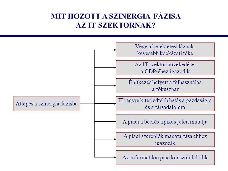 MIT HOZOTT A SZINERGIA FÁZISA AZ IT SZEKTORNAK.