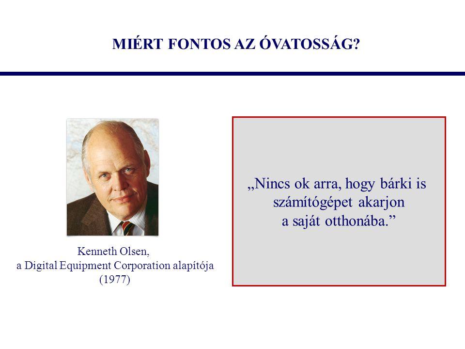 MIÉRT FONTOS AZ ÓVATOSSÁG.