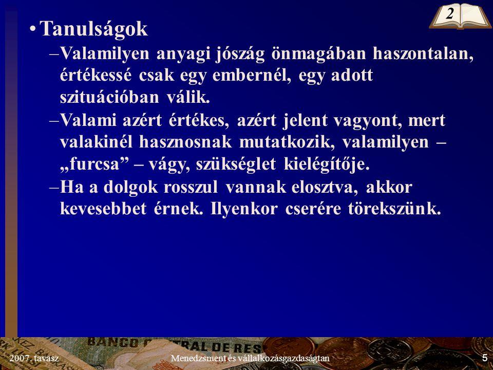 2007.tavasz46Menedzsment és vállalkozásgazdaságtan 1.2.3.