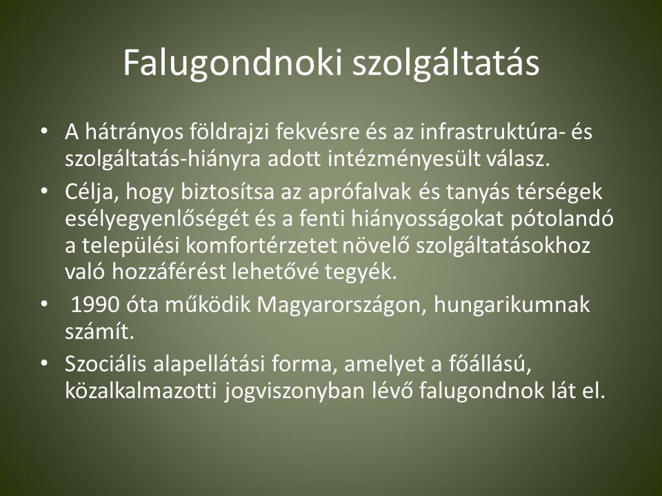 • A falugondnoki feladatellátás feltétele a falugondnoki képzés elvégzése Vértesacsán, amelyről a képzést elvégzők tanúsítványt kapnak.