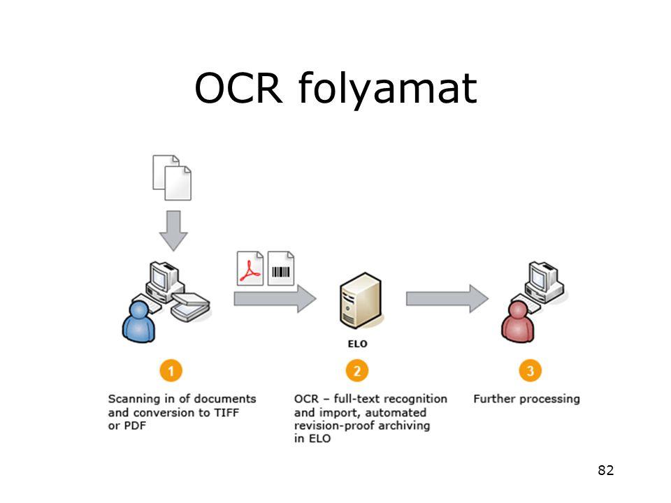 OCR folyamat 82