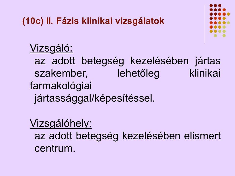 (10c) II.