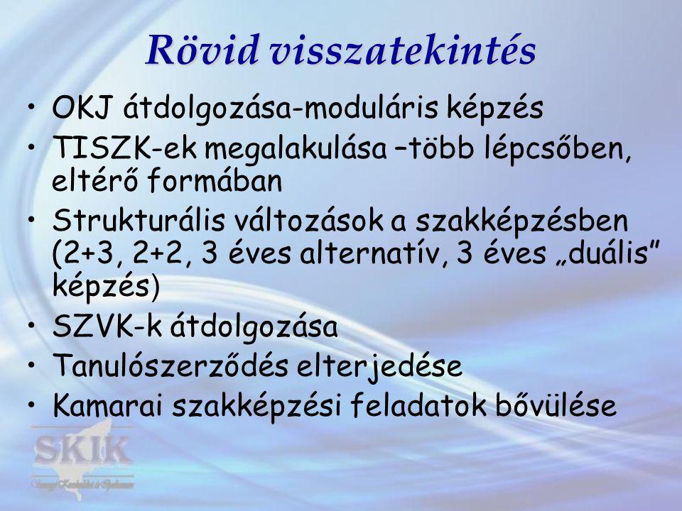 Iskola rendszerű szakképzés felnőttképzésben •2012.