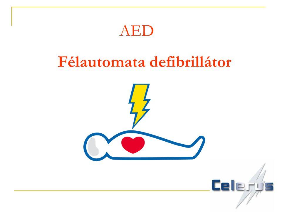 Félautomata defibrillátor AED