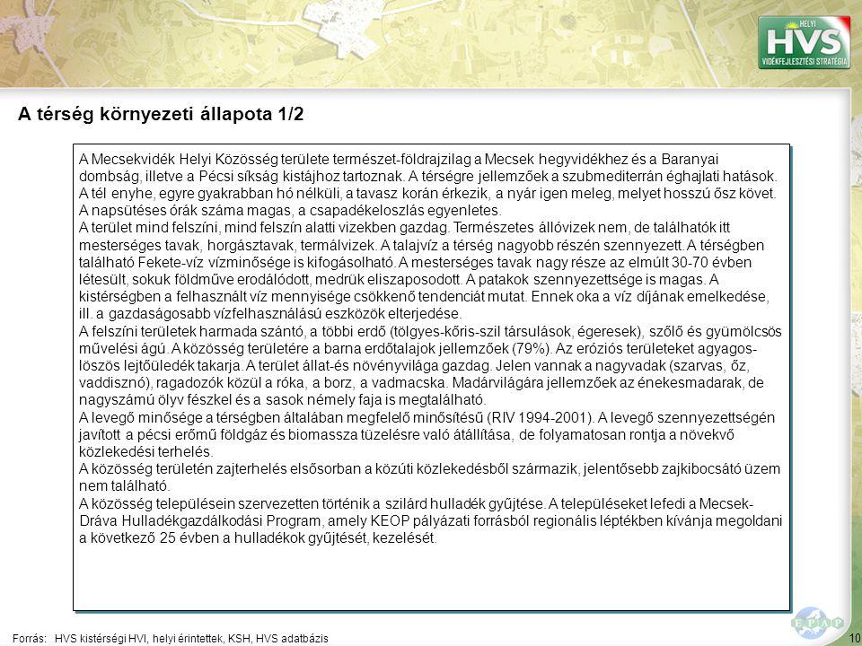 10 A Mecsekvidék Helyi Közösség területe természet-földrajzilag a Mecsek hegyvidékhez és a Baranyai dombság, illetve a Pécsi síkság kistájhoz tartoznak.