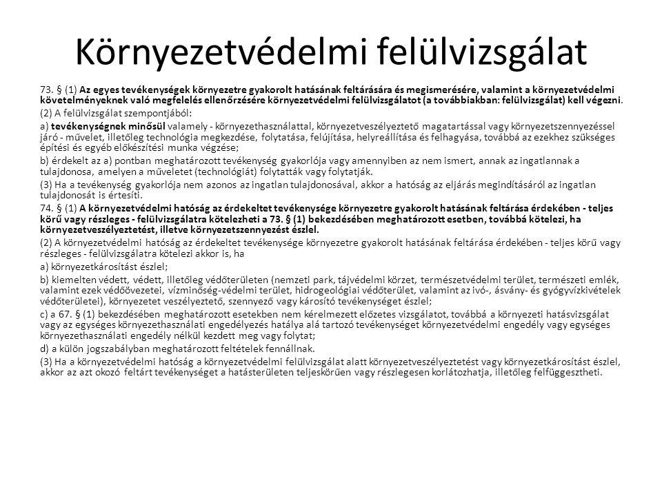 Stratégiai környezeti vizsgálat 2/2005.(I. 11.) Korm.