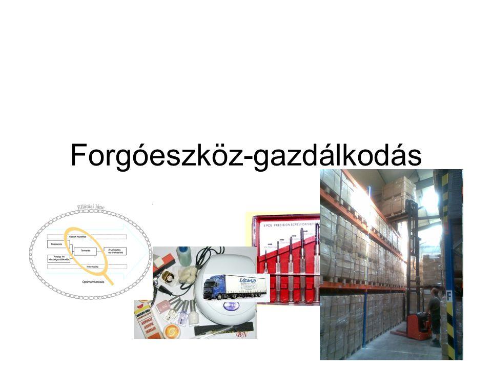 A logisztika költségstruktúrája 2 fő csoport: •Adminisztratív (irányítási) költség: •Készletezés, beszerzés, értékesítés, termelésellátás adminisztratív költségei + információrendszerek működtetési költségei •Logisztikai funkció fizikai megvalósításának költsége •Szállítás, tárolás, anyagmozgatás, csomagolás költségei