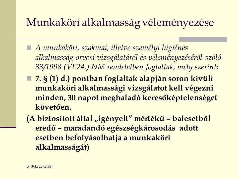 Dokumentációs kötelezettség  Az egészségügyről szóló 1997.