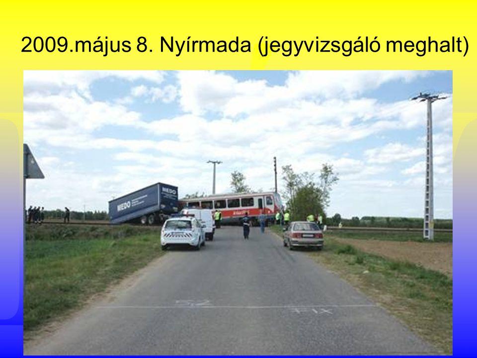 Vasúti és közúti járművek ütközései útátjáróban (2)