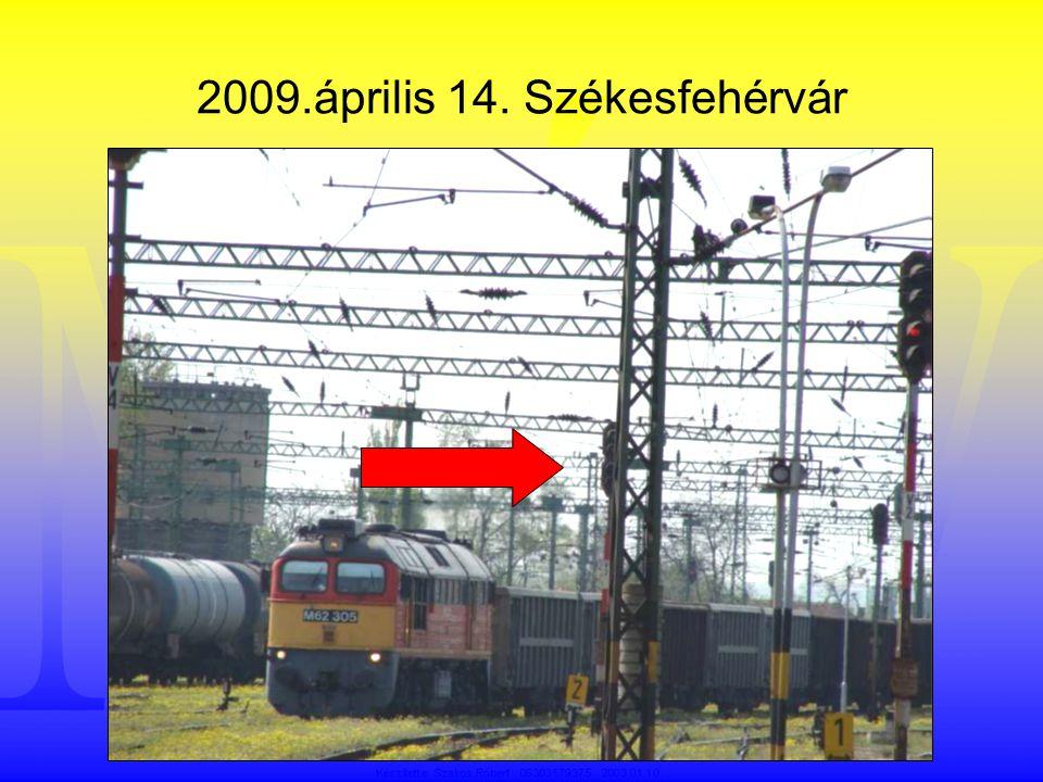 Adatok •Az évben a MÁV hálózatán •1.085.043 személyszállító és •137.510 tehervonat közlekedett, •naponta átlagosan 3.350 vonat.
