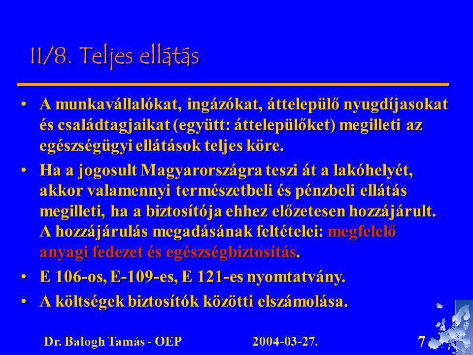 2004-03-27.Dr.Balogh Tamás - OEP 7 II/8.
