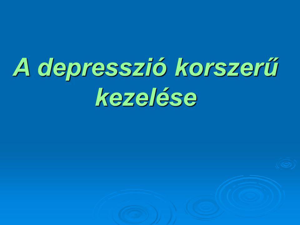A depresszió diagnózisa A depressziós beteg orvosi ellátásának legfontosabb lépése a pontos diagnózis felállítása.