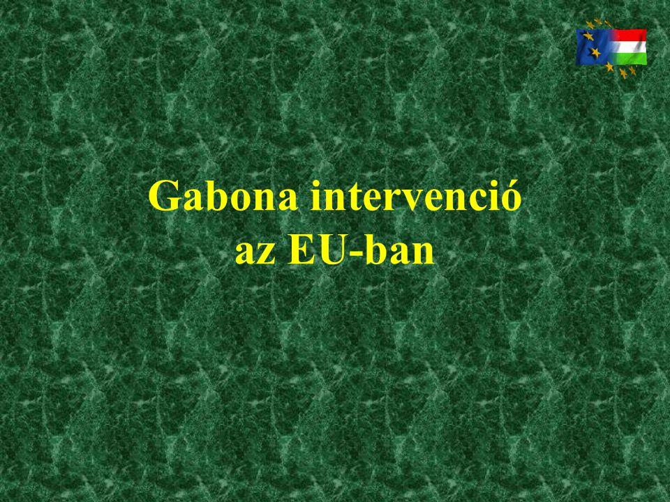 Gabona intervenció az EU-ban