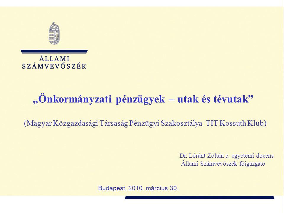 2 A helyi önkormányzatok versenyképességét befolyásoló tényezők  költségvetés  infrastruktúra  munkaerő  oktatás, tudományok helyzete  informatika  intézményrendszer  kultúra  turisztika